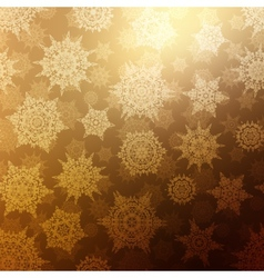 Seamless Bronze christmas texture pattern EPS 10 vector image