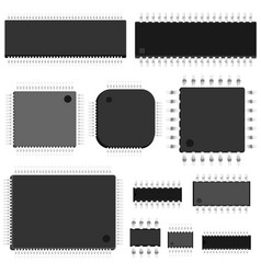 Set of chip vector