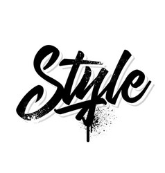 style vector image