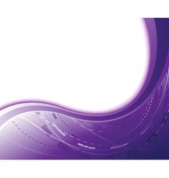 Violet abstract vector