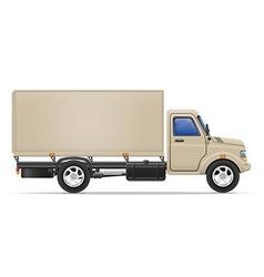 cargo truck 06 vector image vector image