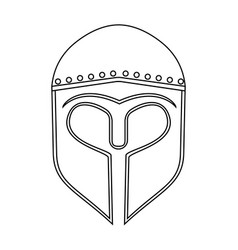 abstract medieval object vector image