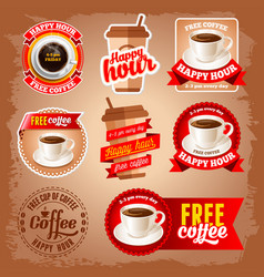 Free coffee vector image