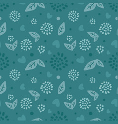 abstract nature pattern scandinavian seamless vector image