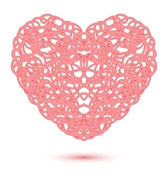Abstract Openwork Heart vector