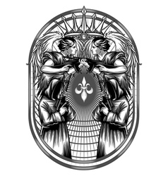 Army of Heaven vector image