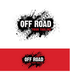 Automotive off road logo vector