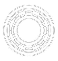 bearing vector image