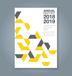 Cover annual report 1177 vector