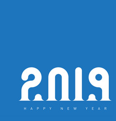 happy new year 2019 universal background with vector image