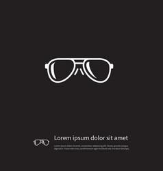 Isolated eye accessory icon eye-wear vector