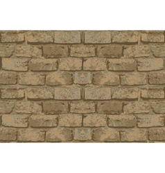 old brick wall pattern vector image