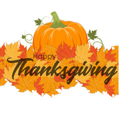 thanksgiving background eps 10 vector image