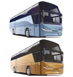 large bus vector image vector image