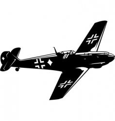messerschmitt bf vector image