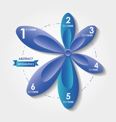 abstract infographics with numbers sketches vector image