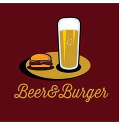 Beer Burger Vector Images Over 2 600