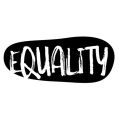 Equality stamp typ vector