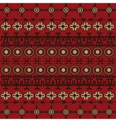 ethnic background vector image vector image