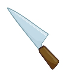 knife vector image