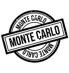 Monte Carlo rubber stamp vector