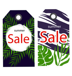 price tag summer sale image vector image