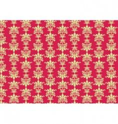 retro swirl pattern vector image