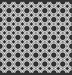 seamless pattern of with smooth rhombuses and vector image