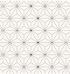 Seamless trendy geometrical pattern vector image