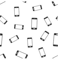 smartphone seamless pattern background flat vector image