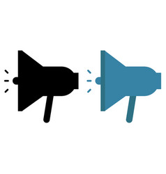 speaker icons vector image