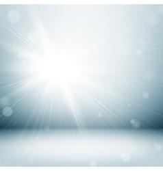 Light studio room vector image vector image