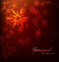 seasonal background vector image