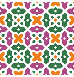 traditional floral islamic ornament vector image vector image