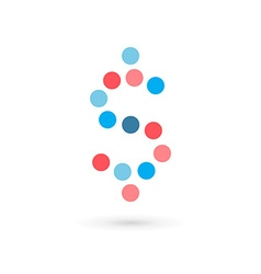 Dollar symbol logo icon design template elements vector image