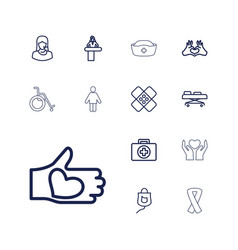 13 help icons vector