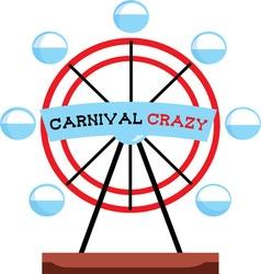 Carnival Crazy vector image