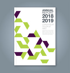 Cover annual report 1187 vector