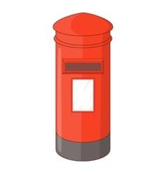 English inbox icon cartoon style vector