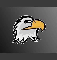 esport logo design vector image