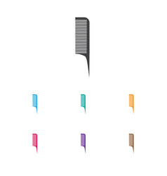 of coiffeur symbol on barber vector image