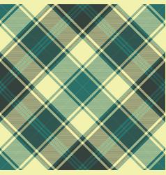 Plaid diagonal seamless fabric texture vector