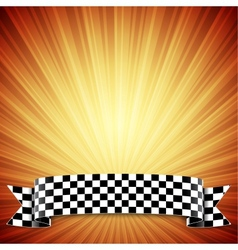 Race background vector image vector image