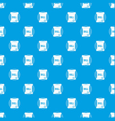 scroll pattern seamless blue vector image