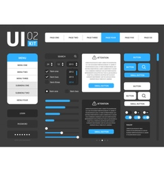 UI template vector