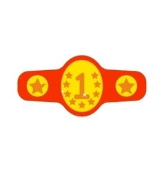 Winner belt vector