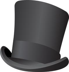 top hat vector image vector image
