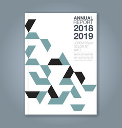 Cover annual report 1192 vector