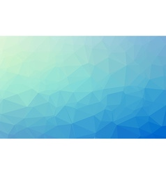 Low Poly geometric abstract backgroud for brochure vector image