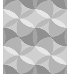 Ornate Geometric Petals Grid Abstract Pattern vector